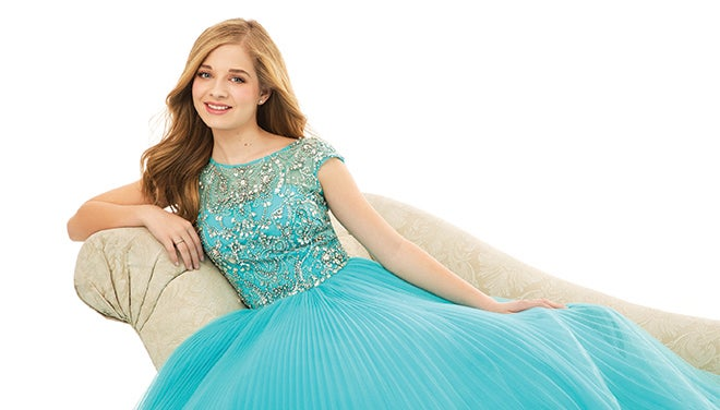 jackie evancho - writing's on the wall
